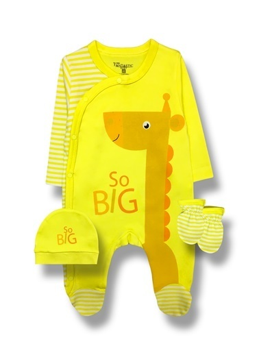 By Leyal For Kids Set Sarı